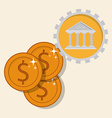 savings in the bank vector image