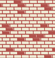 Brick wall - background vector image vector image