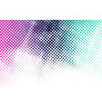 color halftone background vector image vector image