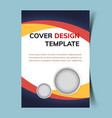 cover design template4 vector image vector image