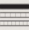 old 35mm film strip vector image