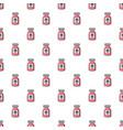 poison bottle pattern seamless vector image vector image