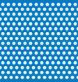 polka dots blue abstract retro seamless pattern vector image vector image