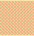 retro colors zig zag seamless background vector image