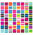 Set of Vibrant Gradient Button Icons vector image