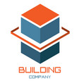 abstract image a building vector image vector image