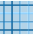 Blue tartan seamless pattern vector image vector image