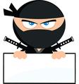 Cartoon ninja vector image vector image