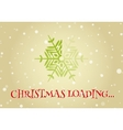 Christmas loader from snowflake