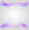 colorful geometric line pattern background vector image vector image