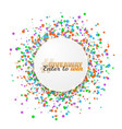 giveaway competition button template vector image vector image