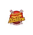 hot dogs logo design symbol icon vector image