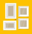 Modern picture frames vector image