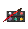 school supply icon image vector image