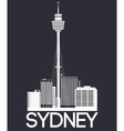 Sydney city banner vector image vector image