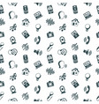 voice user interface icon set vector image