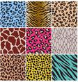 seamless animal skin fabric pattern