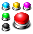 Big button set vector image vector image