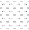 football scoreboard modern icon simple black vector image vector image