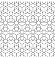 seamless hexagonal pattern - geometric vector image
