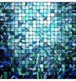 abstract modern Mosaic pattern vector image vector image