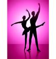 Ballet Dancing vector image vector image