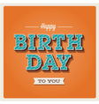 Happy birthday card font type