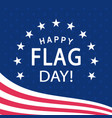 Happy flag day poster