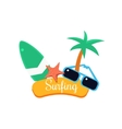 Surfing Summer Vacation vector image