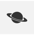 Planet icon vector image