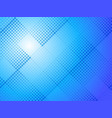 abstract blue halftone dots background vector image