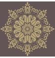 Damask Orient Golden Pattern vector image vector image