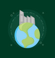 ecology and earth planet vector image vector image
