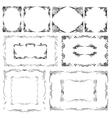 Elegant Frames Set vector image vector image