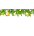 Green New Year Garland vector image