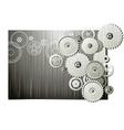 mechanical wheels vector image vector image