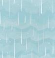 rain seamless pattern vector image