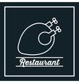 restaurant menu food design vector image vector image