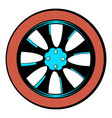 rotor icon cartoon vector image