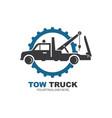 tow truck icon logo design