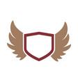 wings logo design vector image vector image