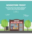 Bookstore Front vector image vector image