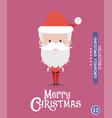 christmas characteravatar 12 vector image vector image