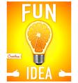 Fun idea vector image