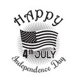 independence day icon 4th of july fourth of july vector image vector image