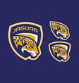 jaguar mascot logo design vector image vector image