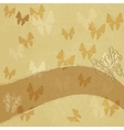 Old spotted paper vector image