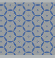 pattern with blue circles vector image vector image