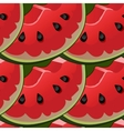 Seamless background with red fresh juicy vector image