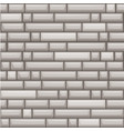 seamless texture placing grey stone wall vector image vector image